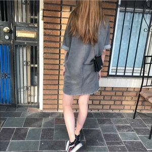 silence + noise Other - sweater dress / grey / silence + noise